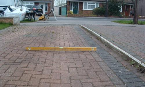 Block Paving rutting