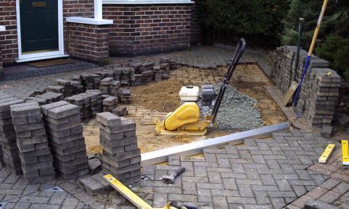 Block Paving Repair Work