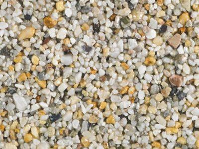 Seashore resin bound aggregate