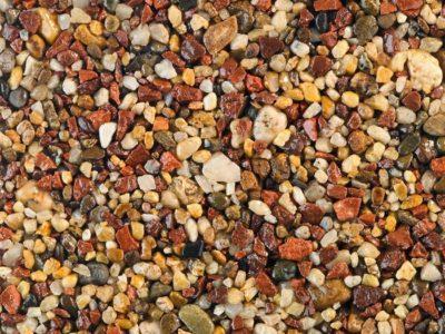 Sienna resin bound aggregate