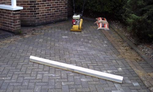 Block Paving repair complete