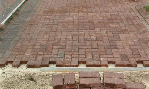 Block Paving Drive re-instatement works North East